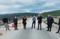 Protesta, sindaci del cratere, messa in sicurezza, ponte Bovara