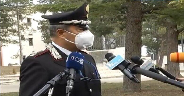 Blitz Carabinieri, corriere, cocaina