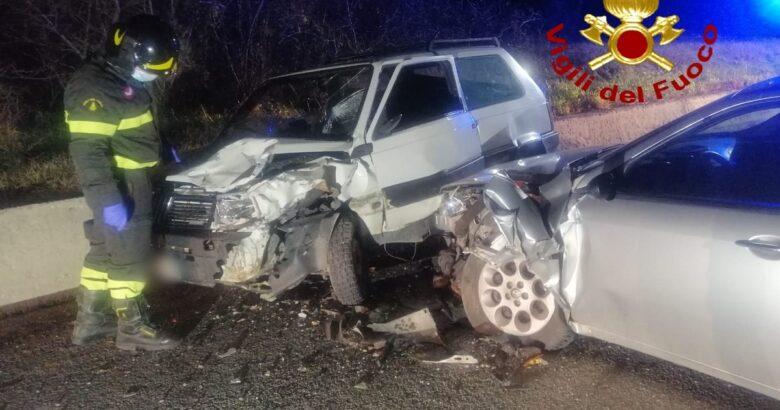Incidente stradale, Provinciale, auto