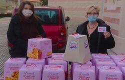 """""""Donare panettoni a Natale"""", Comitato Stranieri residenti, Montenero di Bisaccia"""