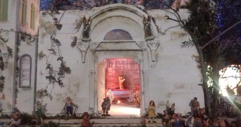 VENAFRO, Basilica di San Nicandro, Presepe