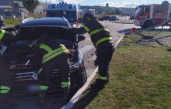 Incidente stradale, auto, ferito,