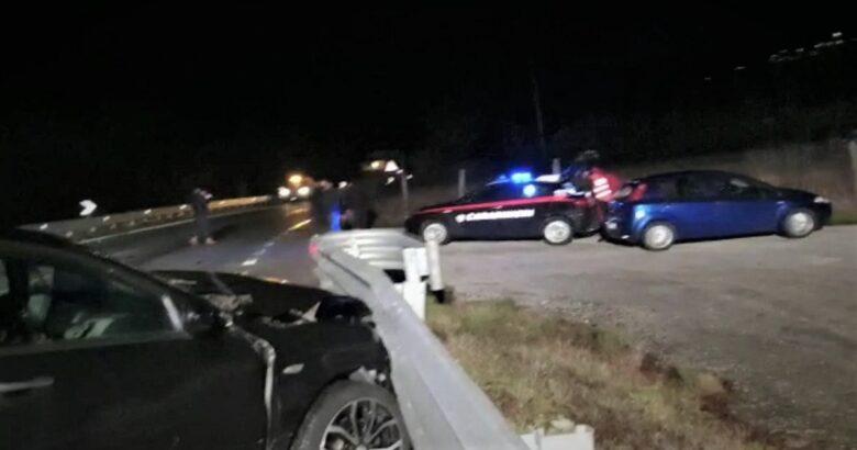 Incidente stradale, ragazzo morto, Isernia