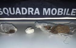 droga, eroina, cocaina, mascherina, arrestato, Polizia