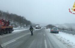 Automobilisti in panne, tir bloccati, Vigili del Fuoco, provincia di Isernia
