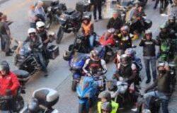 Motoraduno, multati, motociclisti