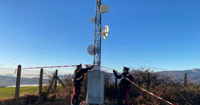 sequestro antenne non autorizzate