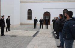 Carabinieri, Generale, Carlo Cerrina, visita, Comando Provinciale, Campobasso