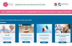 Piattaforma, vaccini Covid, online, informazioni