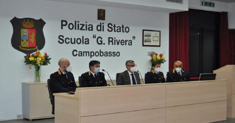 POLIZIA, dirigenti, Questura, Campobasso, Squadra mobile, Polpost, Polizia stradale