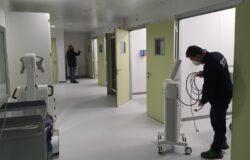 SANITA', terapia intensiva, Pd, Isernia, Senza personale, scatole vuote