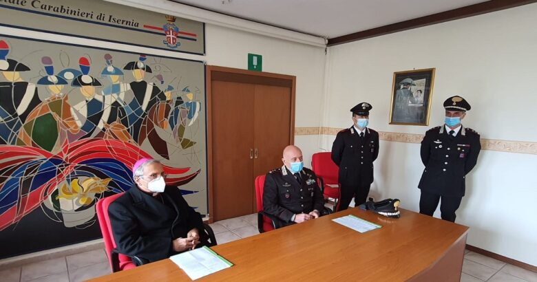 Un Click di solidarietà, Carabinieri, campagna vaccinale