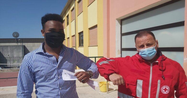 CRI Isernia, Volontari, Cabdishakuur, somalo, Croce Rossa