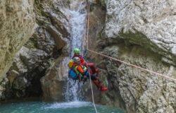 Soccorso Alpino, Speleologico, Molise, addestramento, forra