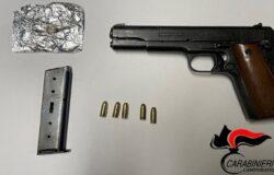 droga, pistola, scooter, arrestato