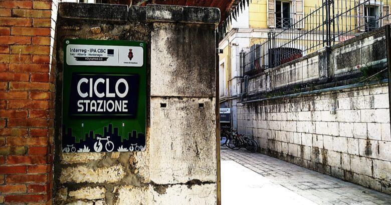 CAMPOBASSO, Piazzetta Palombo, ciclo stazione