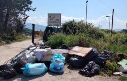 VENAFRO, rifiuti abbandonati, centro raccolta comunale