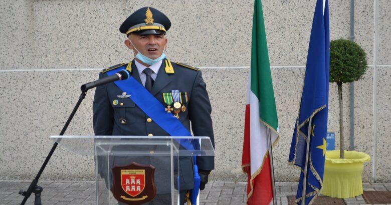 Cambio al comando tenenza GdF Venafro