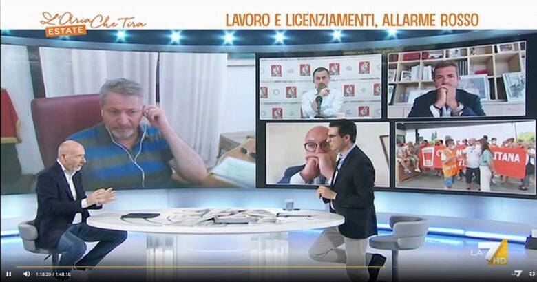 Stellantis, Francesco Roberti, La7, L'aria che Tira