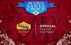 Acqua Santa Croce, Official Water, Partner, AS ROMA