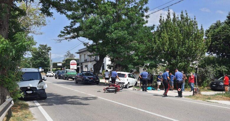 Incidente mortale, viale San Nicandro, morto