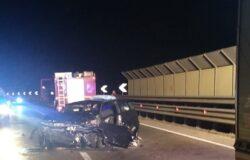 Incidente stradale, SS 85, feriti, gravi
