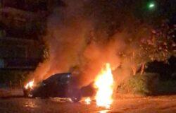 VENAFRO, auto, fiamme, Parco Di Bona