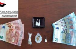 CARABINIERI, Spaccio, detenzione di sostanze stupefacenti, resistenza Pubblico Ufficiale, arrestato